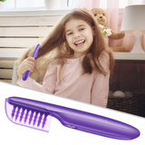 Portable Electric Detangling Wet or Dry Tame The Mane Electric Detangling Brush with Brush Cover, Adults & Kids - Loving Lane Co