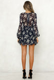 New Floral Long Sleeve Dresses