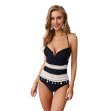 New! One Piece Tassel Swimsuit in 10 Colors and Styles