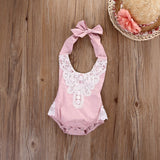 Lace Baby Girl Precious Rompers in 5 Colors
