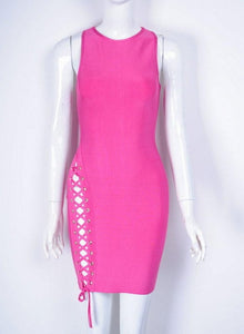 Summer Bandage Dress Celebrity Party Sexy Bodycon Night Out Dress