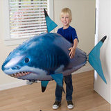 Remote Control Flying Shark Toy Flying Nemo Clown Fish Air Swimmer Helicopter Kids Toy