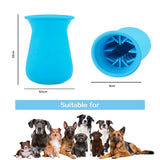 Dog Paw Cleaner Pet Foot Washer Cup Dog Paw Cleaning Brush Grooming Dirty Cat Feet Cleaning Brush
