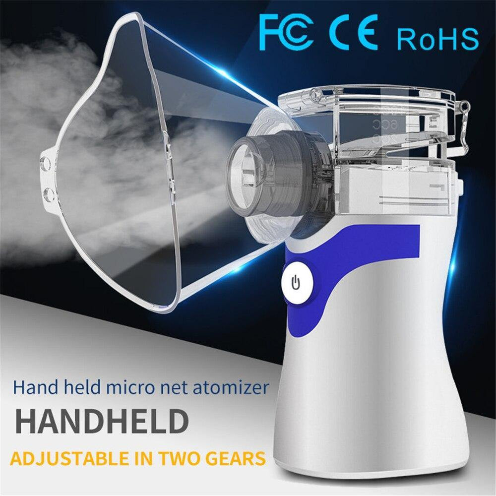 Handheld Mini Sprayer Portable Travel Home Daily Use Humidifiers Silent Nebulizer for Home Car Respirator Humidifier - Loving Lane Co