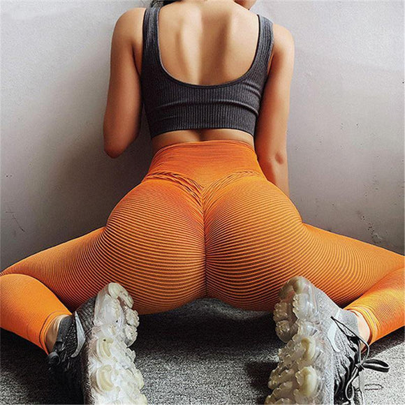 The Newest Scrunch Butt Booty Shaping High Waist Compression Yoga Pants