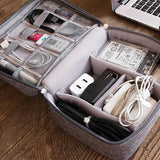 Travel Storage Bag Kit Data Cable U Disk Power Bank Electronic Accessories
