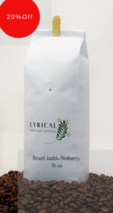 Brazil Jazblu Peaberry | 20% Off! | Discount Taken at Checkout