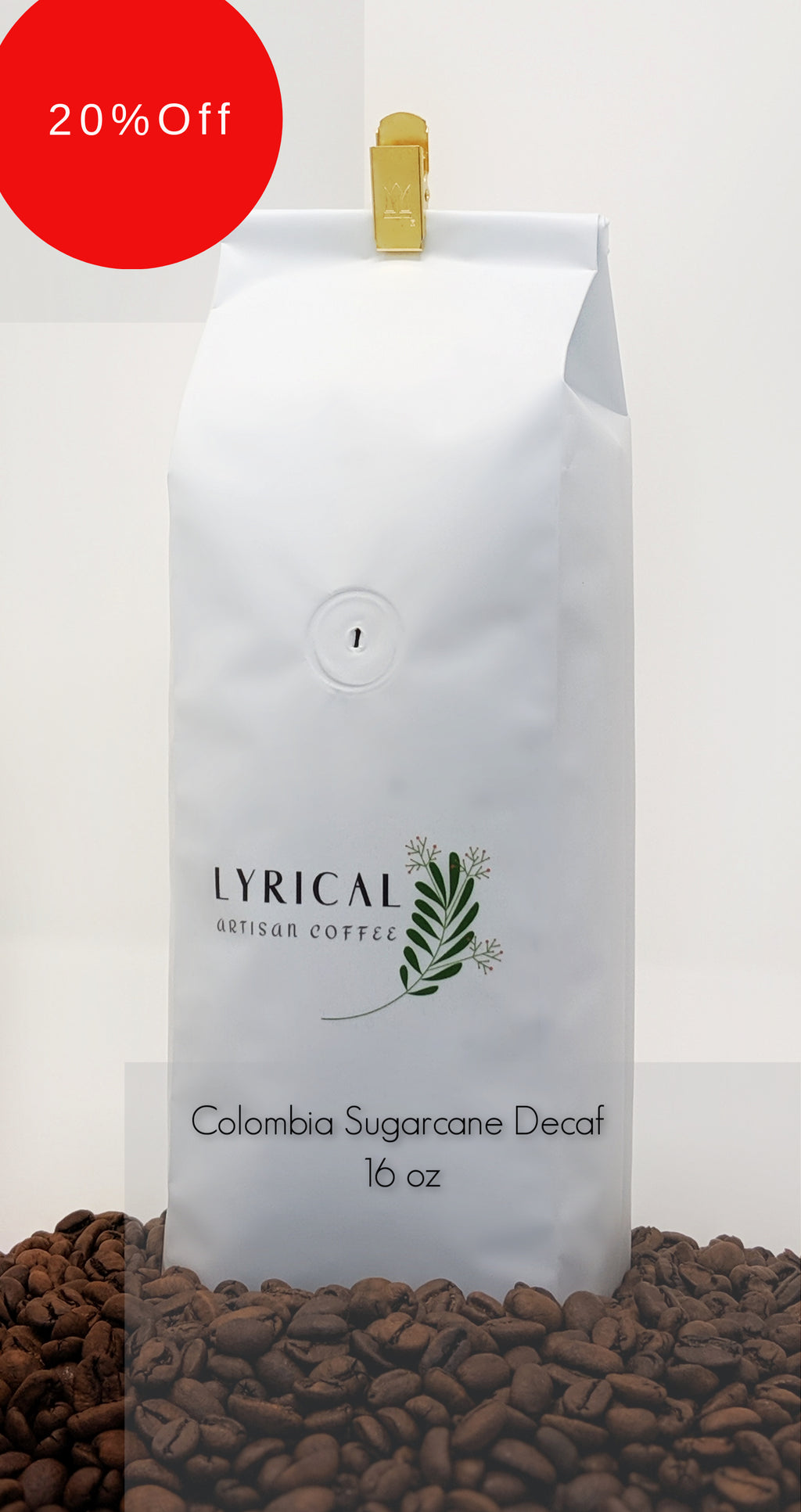 Colombia Sugarcane Decaf | 20% Off! | Discount Taken at Checkout