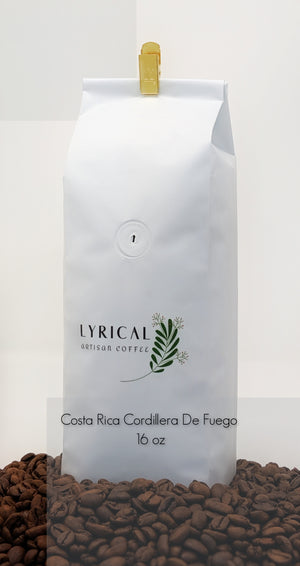 Freshly Roasted Costa Rica Coffee Beans. Anaerobic Processed. One Pound.