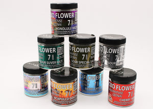 Premium Glass jars now available for 3.5 g and 7 gram Hemp Flowers!