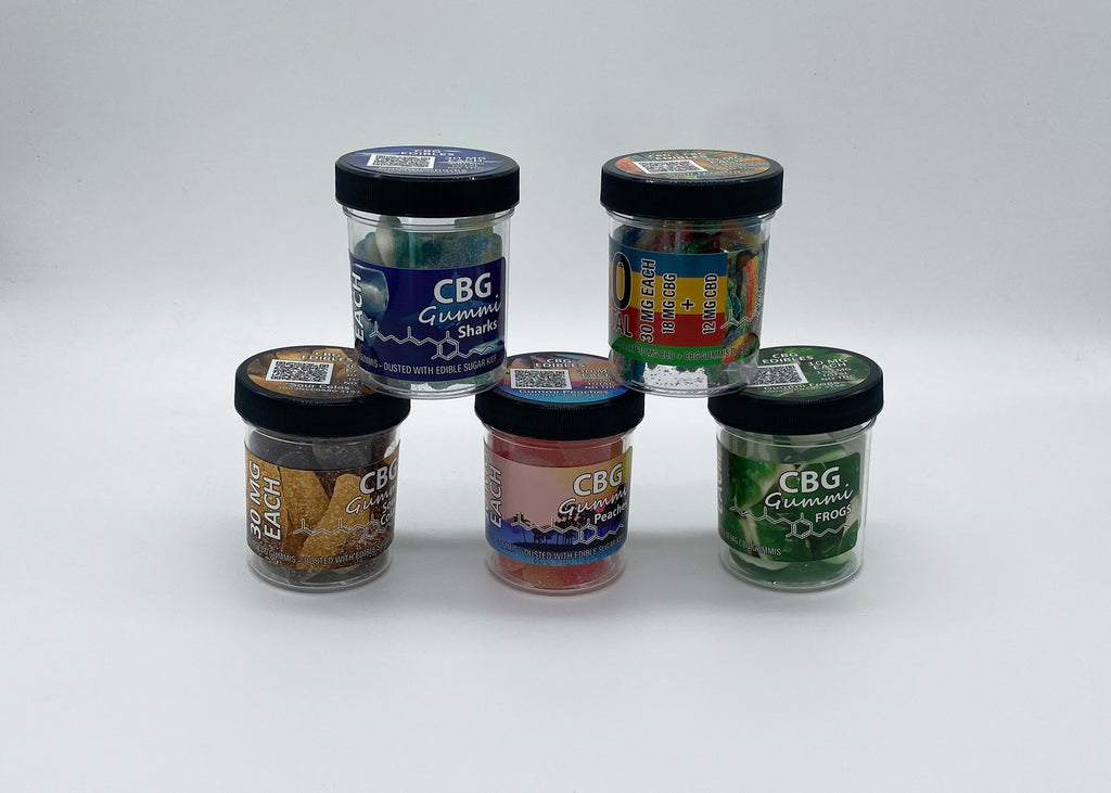 CBG EDIBLES NOW IN STOCK!!!