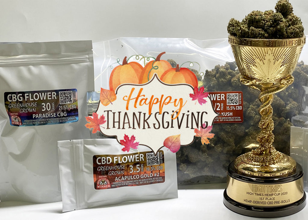 HAPPY THANKSGIVING FROM WHOLESALE CBD FLOWER!