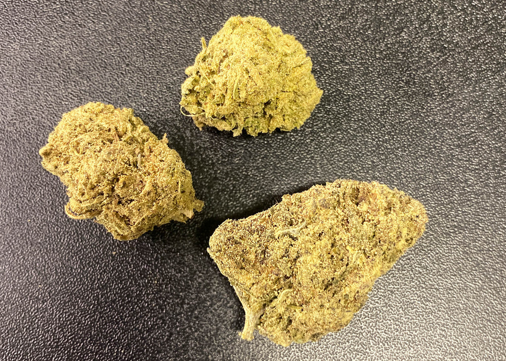 NEW PRODUCT ALERT:  KIEF DUSTED CBD FLOWER NOW IN BULK QUANTITIES!
