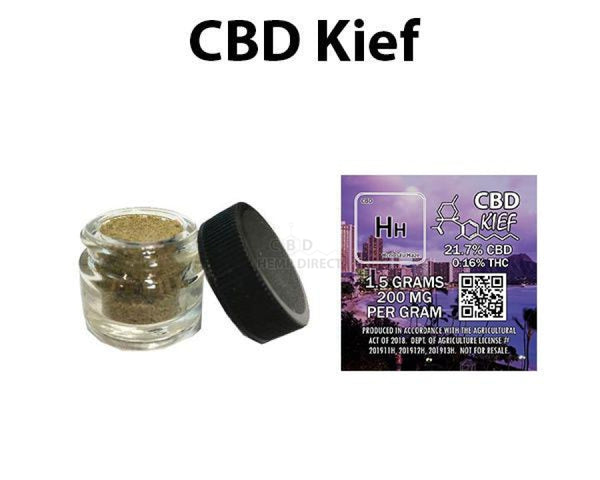 1.5 Grams Cbd Kief (10 - 900 Quantity) 4 Strains Available