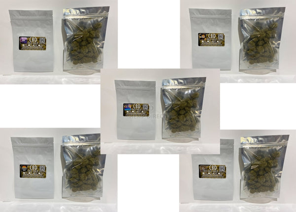 30 Grams 47.8% Cbd Kief Nugs (5 - 300 Quantity) 5 Strains Available New Product! Flower