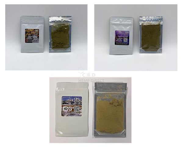 Bulk Hemp Kief (10 G - 1 Kg) 2 Strains Available