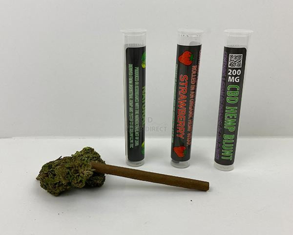 Cbd Blunts (15 - 600 Quantity) 3 Flavors Available Blunt
