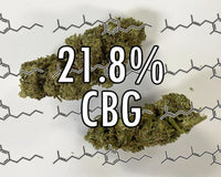 Cbg Flower - 21.8% (1/2 5 Lb) | New Product!