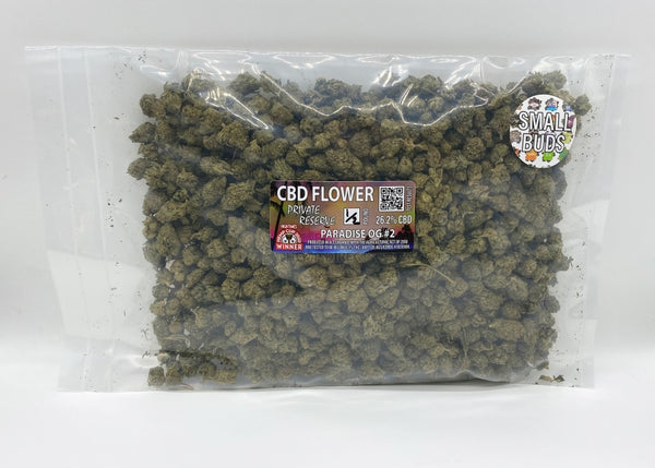 Organic 26% Cbd Flower Small Buds (1/2 - 20 Lb) Fresh Harvest
