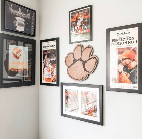 Clemson Home Decor