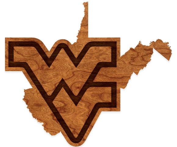 West Virginia Mountaineers Wall Art