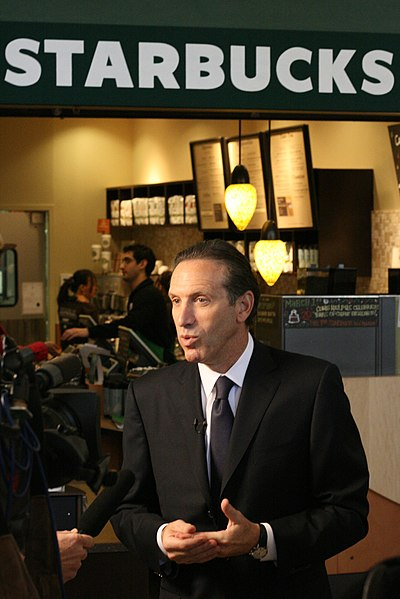 July 2019 HTSAAIL of the Month - Howard Schultz