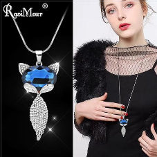 women latest design stone blue stone pendents for womens luxury pendents