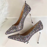 Super shiny glitter High heels| valentine and marrige special