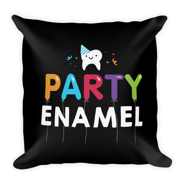 Party Enamel - Premium Pillow