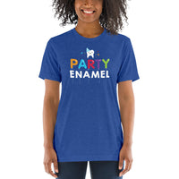Party Enamel - Short Sleeve T-Shirt