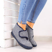 Women's Casual Daily Comfy Slip On Boots