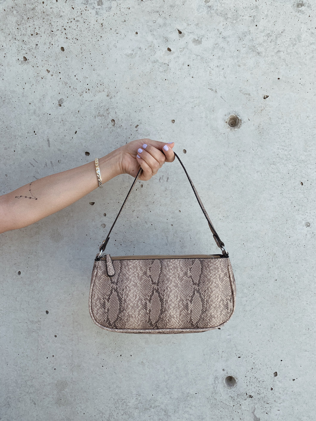 Snake Paris Shoulder Bag