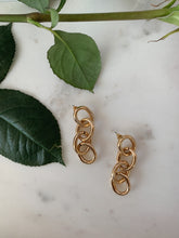 Load image into Gallery viewer, Link Up Oval Earrings