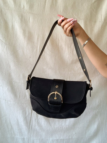 Buckle Up Shoulder Bag