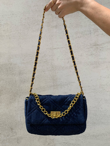 Want It All Denim Bag