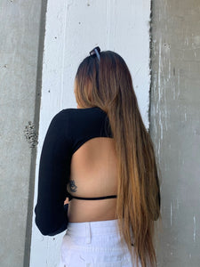 Open Back Top (Black)