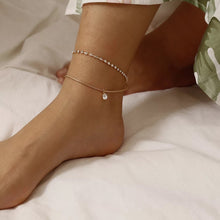 Load image into Gallery viewer, Diamante Double Anklet