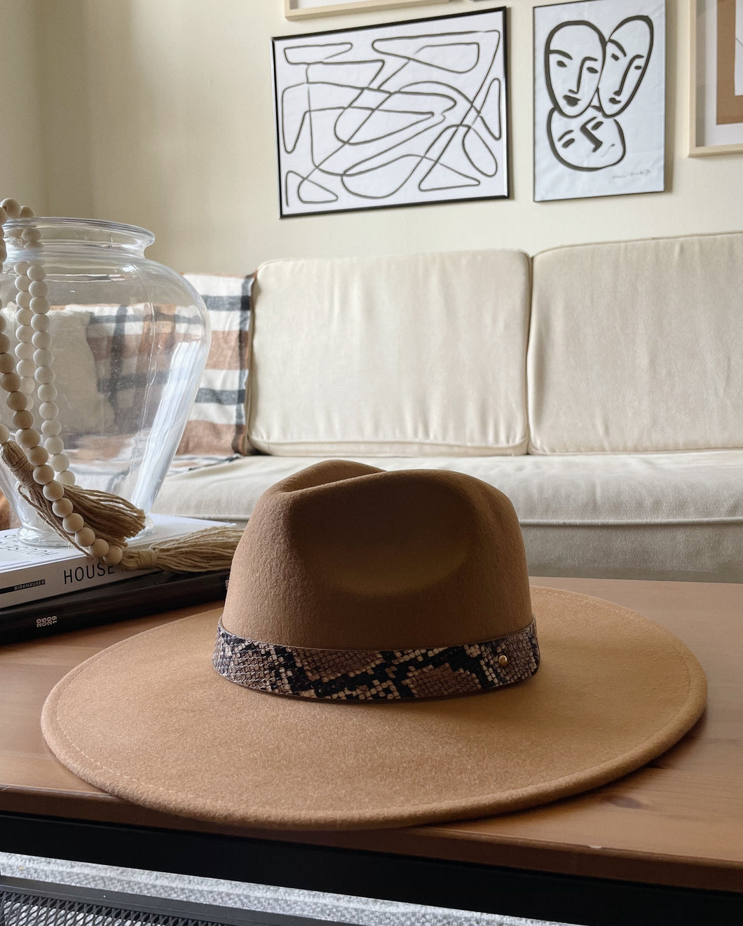 Sierra Hat (Dark Tan)