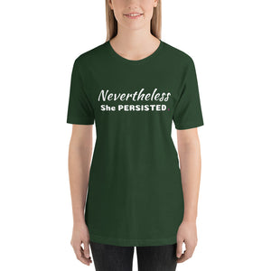 Nevertheless She Persisted Short-Sleeve Women's T-Shirt