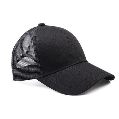 Ponytail Baseball Cap - Assorted Colors