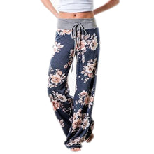 Load image into Gallery viewer, Women's Loose-Fit Floral Pants