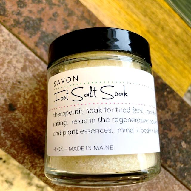 Foot Salt Soak