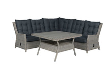 Load image into Gallery viewer, Granada Rattan- Lounge Dining Set- Cloudy Grey or Willow
