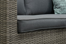 Load image into Gallery viewer, Cassis Chaise Rattan- Corner Lounge- L Shape Set- Grey