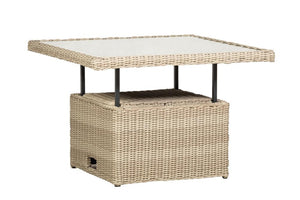 Tuscany Rattan- Corner Dining/Lounging Set- Cream