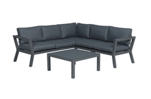 Load image into Gallery viewer, Toledo Aluminium Lounge Set- In Grey