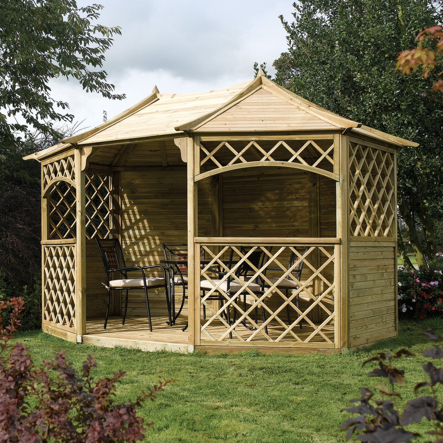 The Ludlow Garden Gazebo