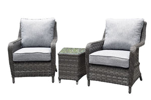 Hatherton Tete a Tete Dining Set- In Grey or Natural Weave END OF JUNE AVAILABILITY