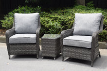 Load image into Gallery viewer, Hatherton Tete a Tete Dining Set- In Grey or Natural Weave END OF JUNE AVAILABILITY
