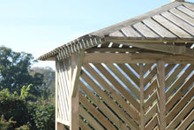 Load image into Gallery viewer, The Wooden Camden Corner Arbour